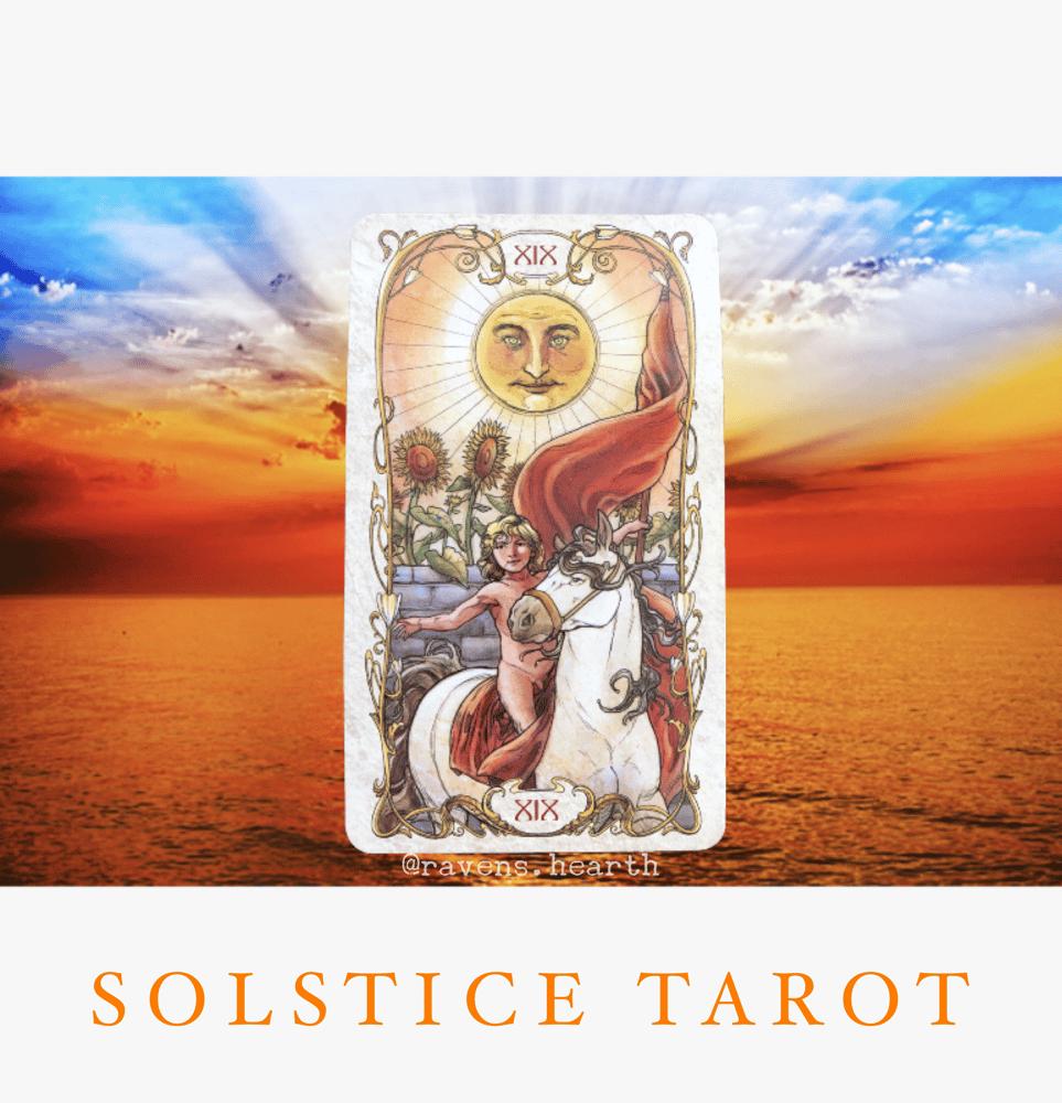 Image of SOLSTICE TAROT