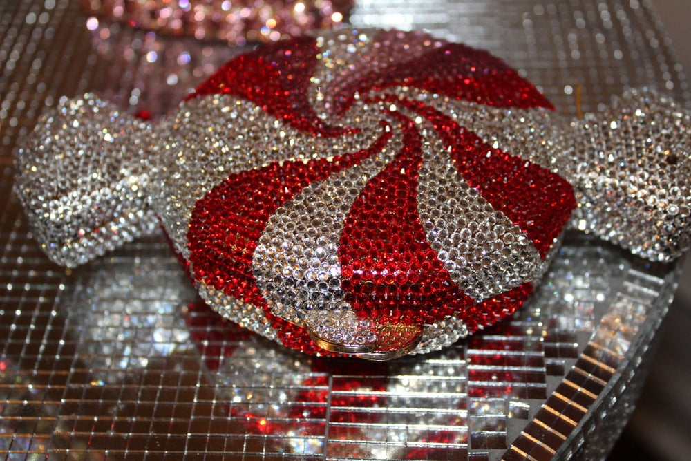 Image of Peppermint Palace clutch