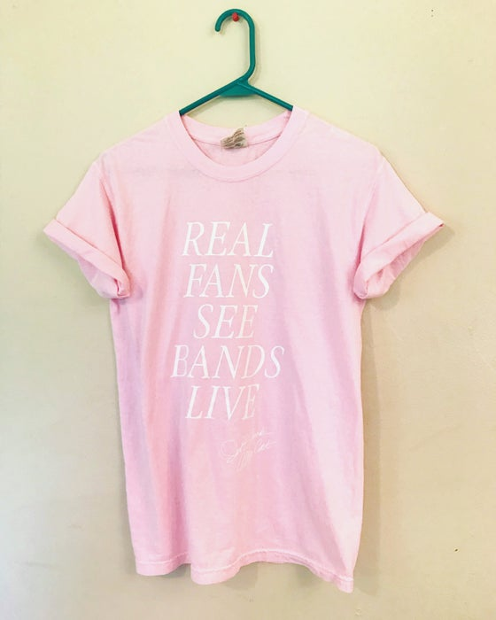 Image of 'Real Fans' Pink Edition T