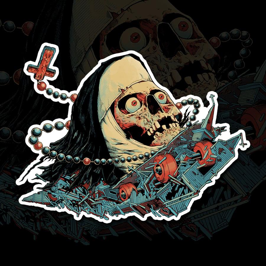 Image of NunSkull Sticker (PRE-ORDER)