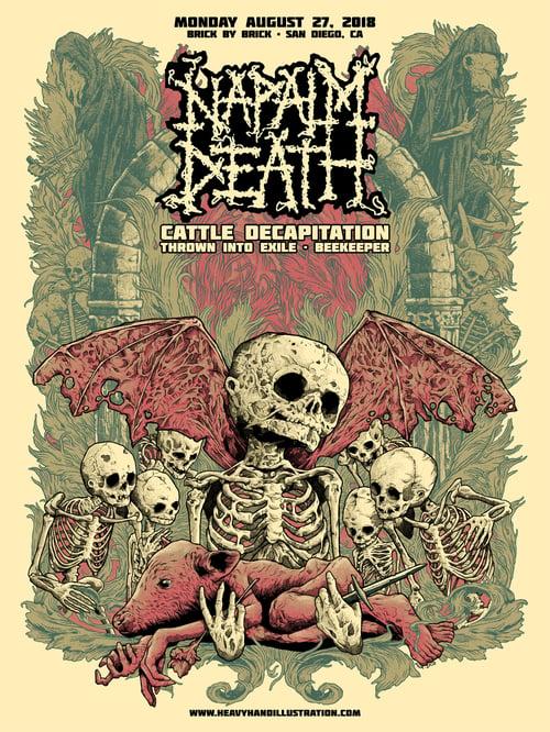 Image of Pig Destroyer/Napalm Death Poster Package
