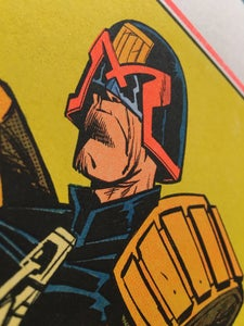 Image of JUDGE DREDD Riso Print