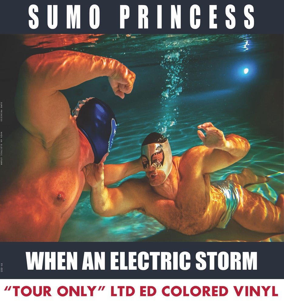 "Image of Sumo Princess ""When an Electric Storm"" 12"" Vinyl"