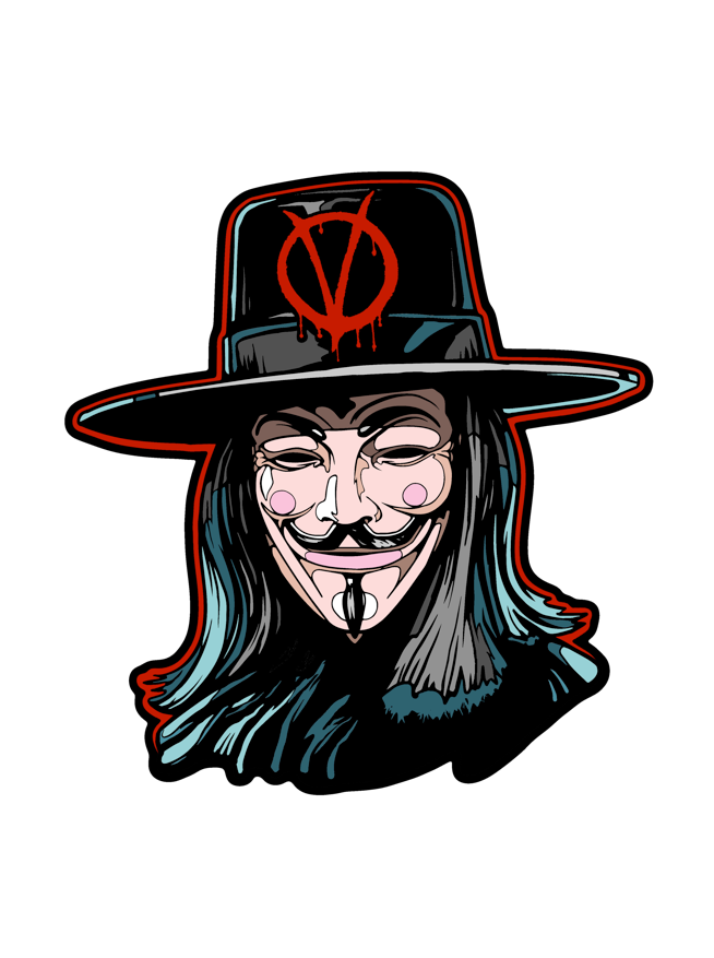 Image of V for Vendetta by DeathStyle Art