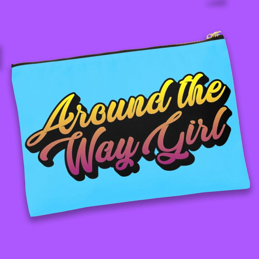 Around The Way Girl Clutch
