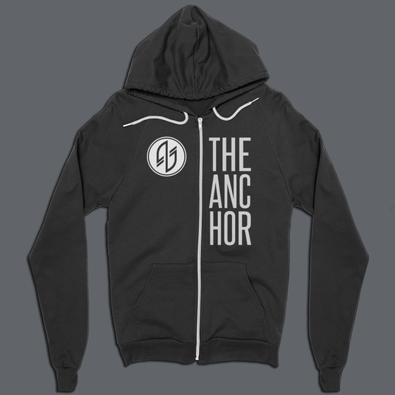 Image of Anchor Zip-up Hoodie