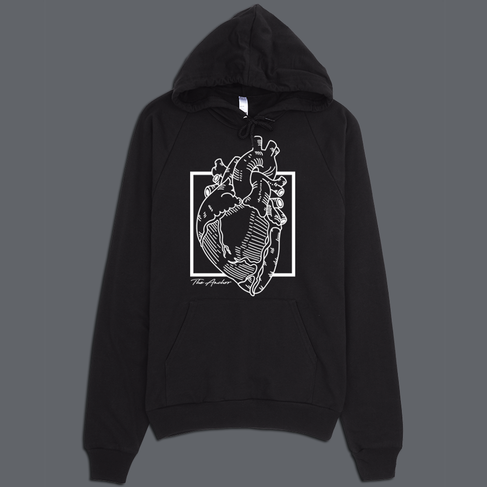 Image of Heart Pullover Hoodie