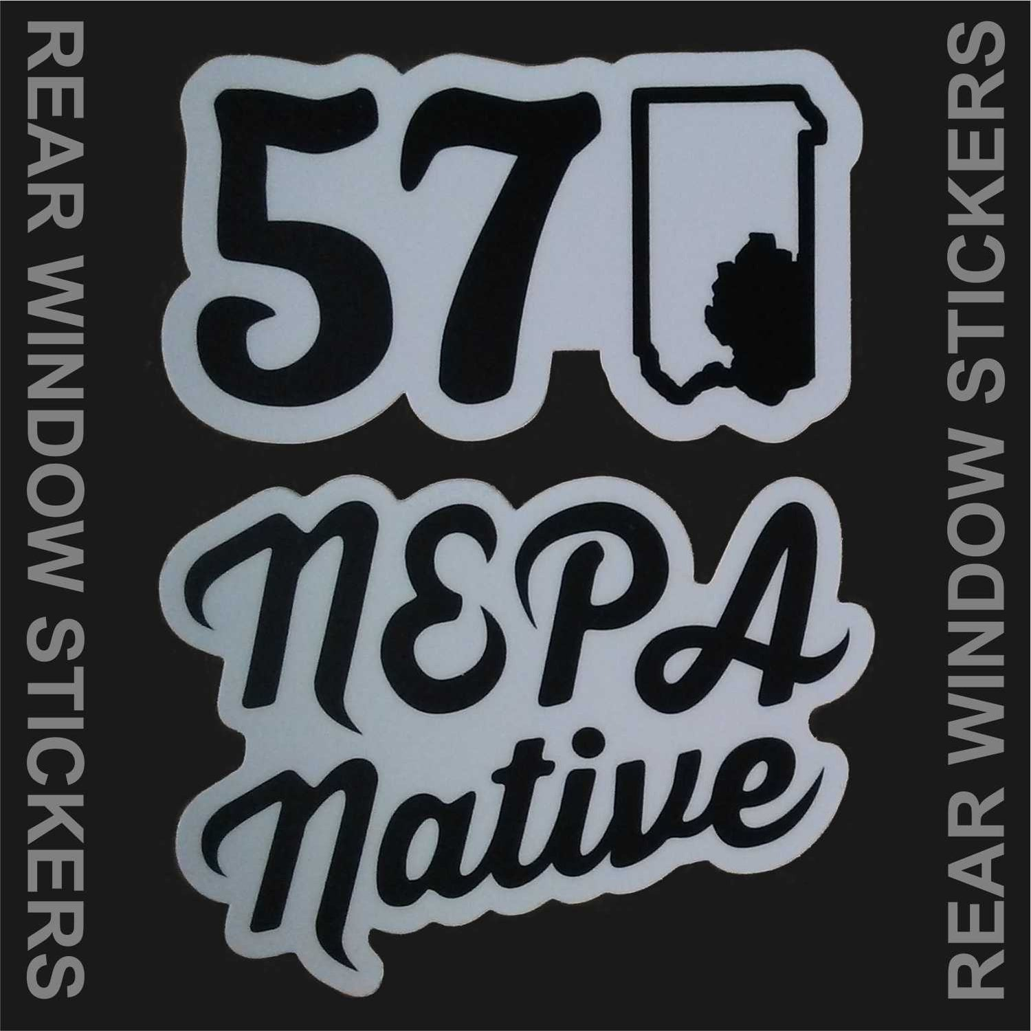 Image of NEPA Native and 570 sticker pack