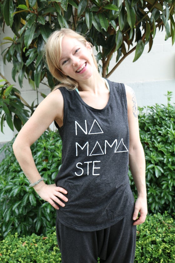 Image of Bamboo Tank Top Long : Namamaste