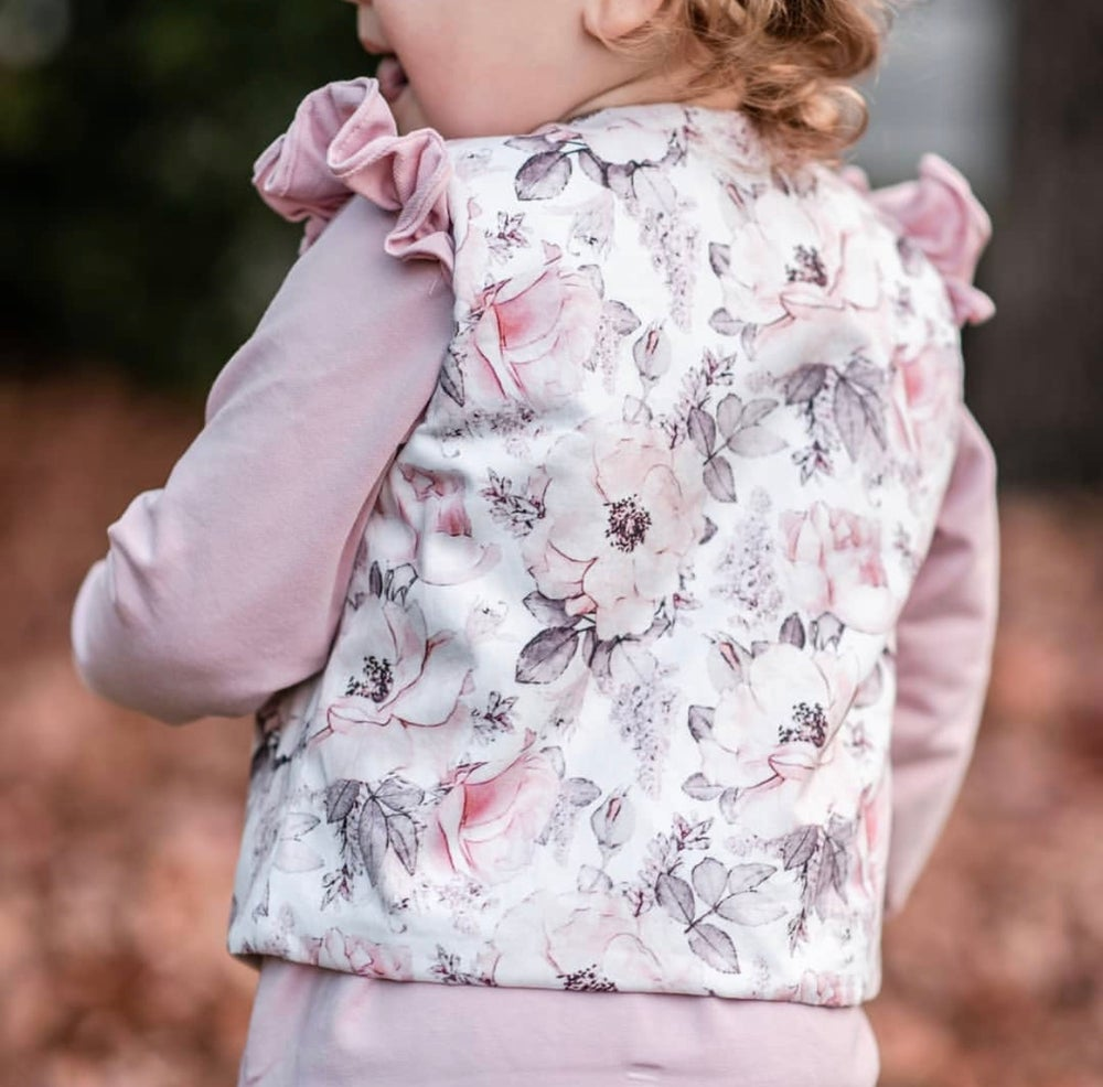 Image of Floral vest