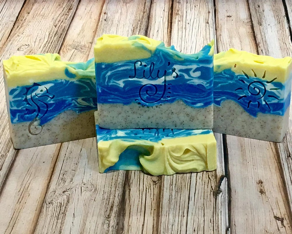 Image of Sandy Beach Goat Milk Soap