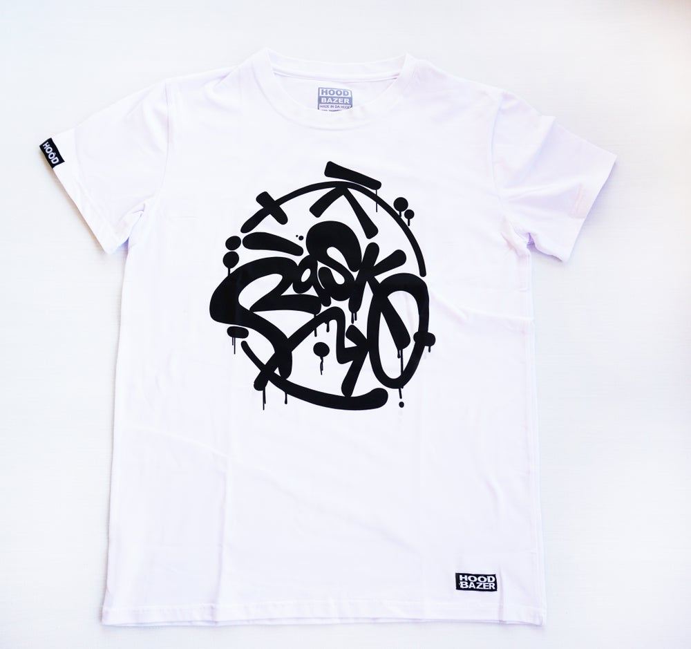 Image of Rasko WHITE T-Shirt Doubleprinted