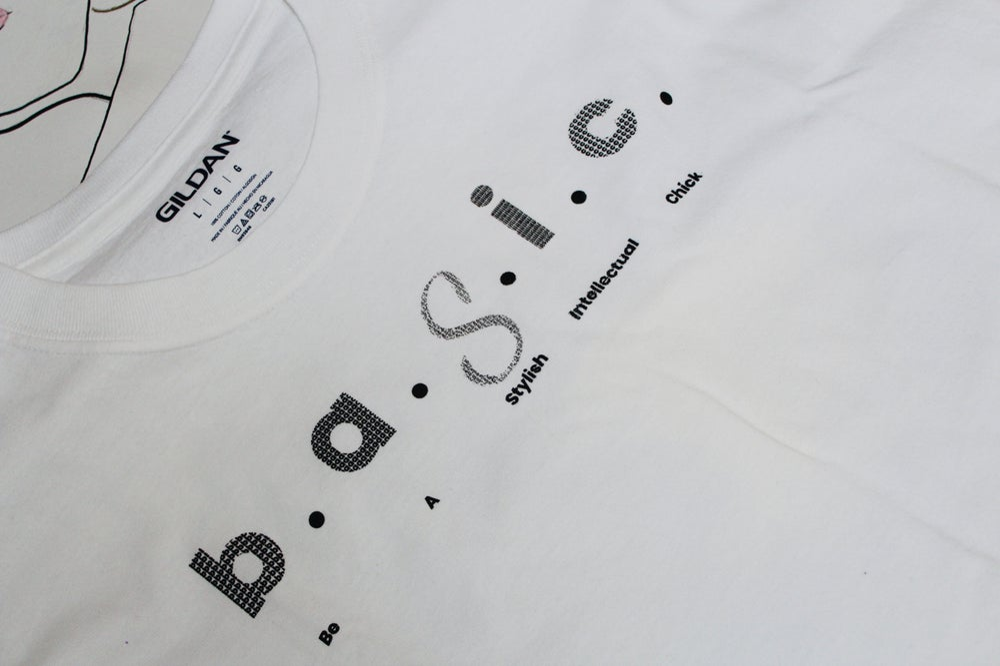 Image of b. a. 𝒮. i. c.  T-shirt