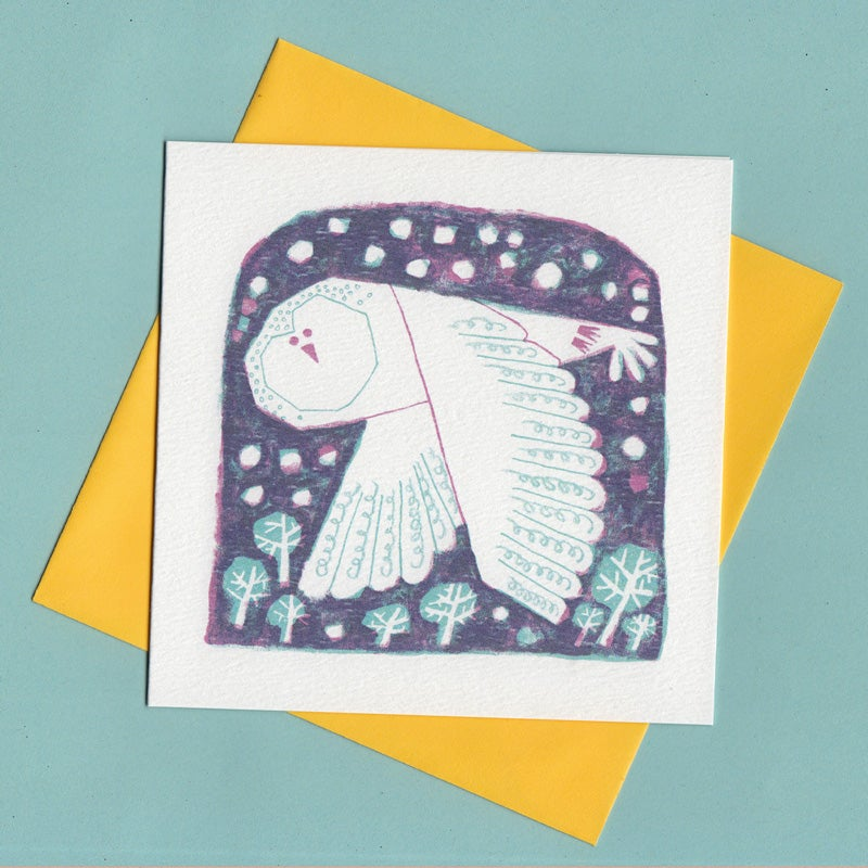 Image of Silent Night Owl Card