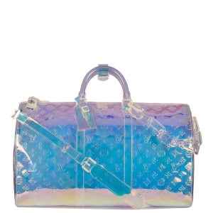 Image of LV Iridescent  Keepall Bandouliere