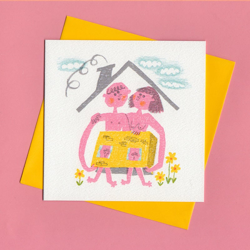Image of New Pad, Moving House Card