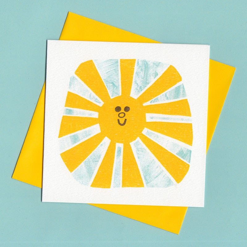 Image of Sunshine, Sun Card