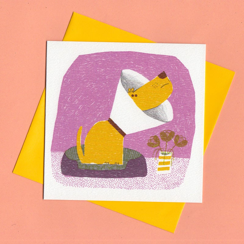Image of Get Well Soon, Dog Card