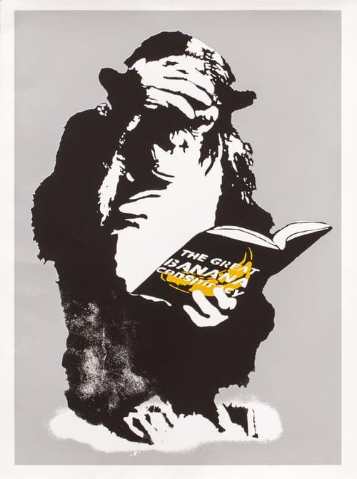 Image of Rip Art - The Great Banana Conspiracy (Gray)