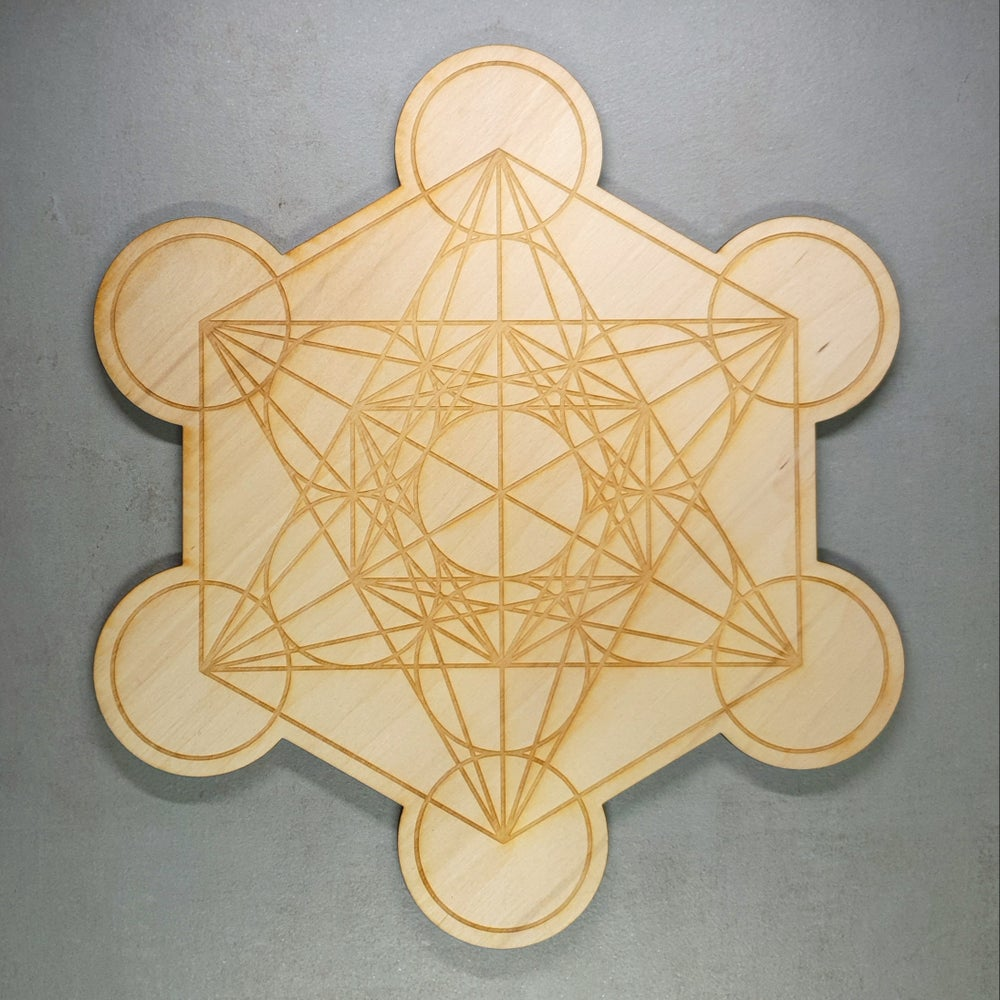 Image of METATRON's CUBE - Sacred Geometry Grid