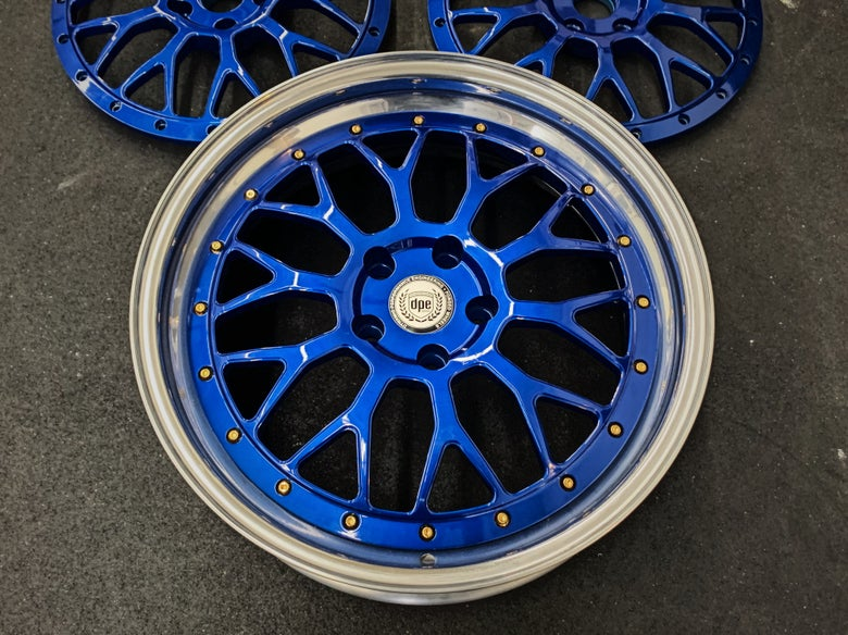 "Image of 19"" S20 Candy Blue for Subaru (step lip) or 18"" Reverse"