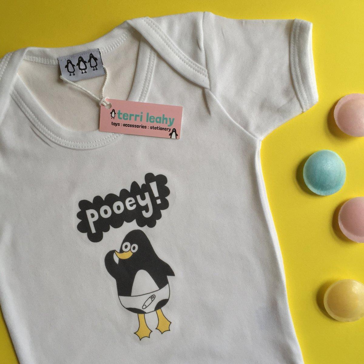 Image of Pooey! Penguin Babygrow