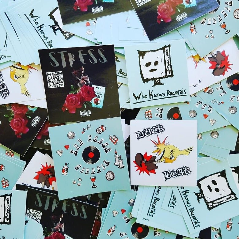 Image of 4 Sticker Pack