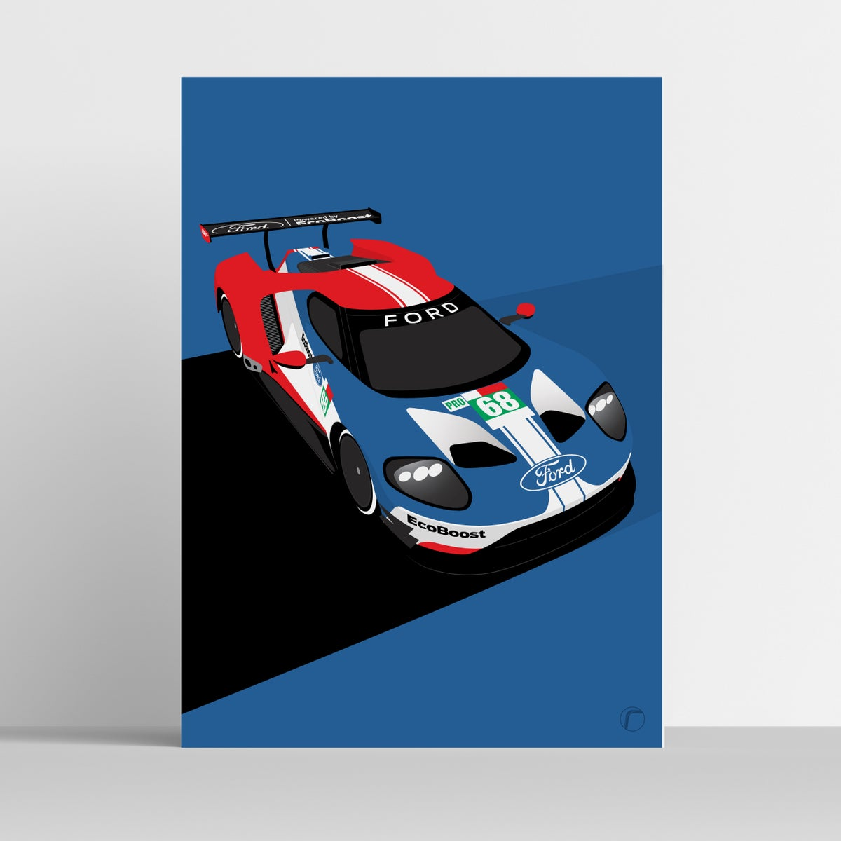 Image of Ford GT40 | Le Mans #68