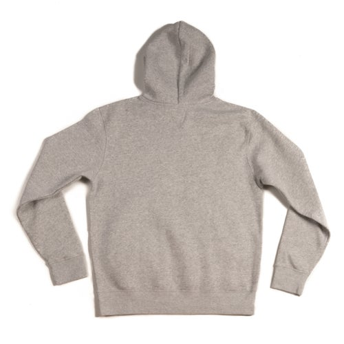 Image of TRAPHOUSE Grey HOODIE