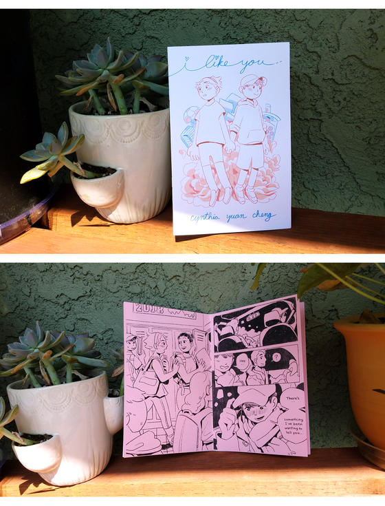 Image of I Like You zine