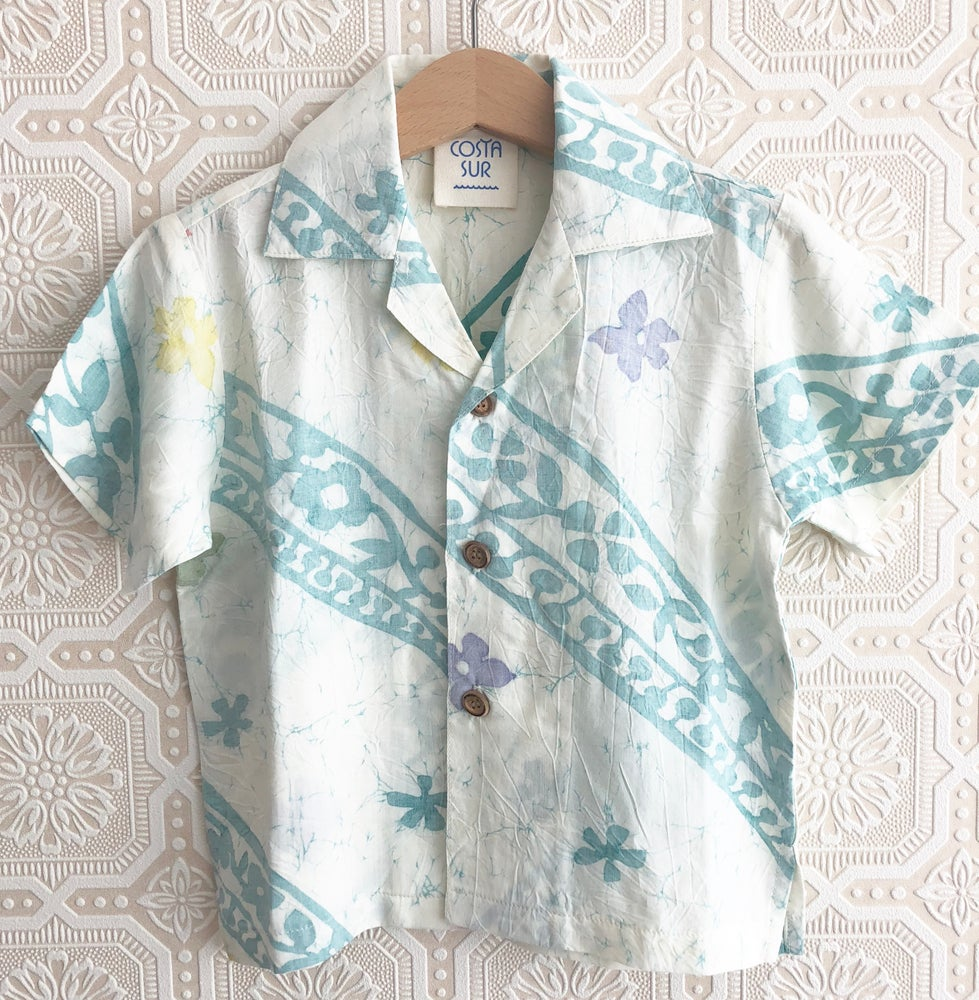 Image of COSTA SUR- Kid & Adult Tropics Button Down
