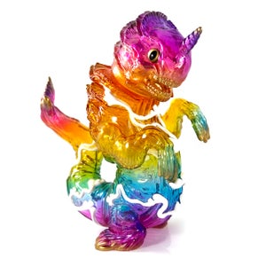 Image of Clear Rainbow Chibi-Kujira & Bake-Zame