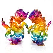 Image of Clear Rainbow Chibi-Kujira & Bake-Zame