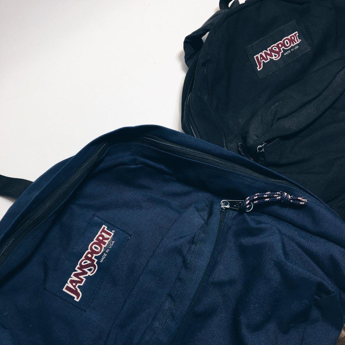 Image of Original 90's Made In USA JanSport Backpacks.