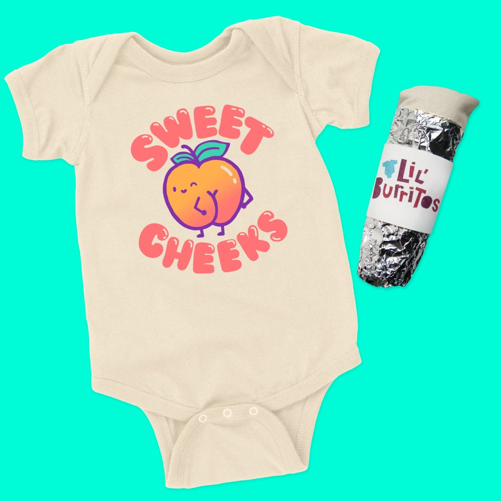 Image of Sweet Cheeks Toddler Tee/Baby Bodysuit