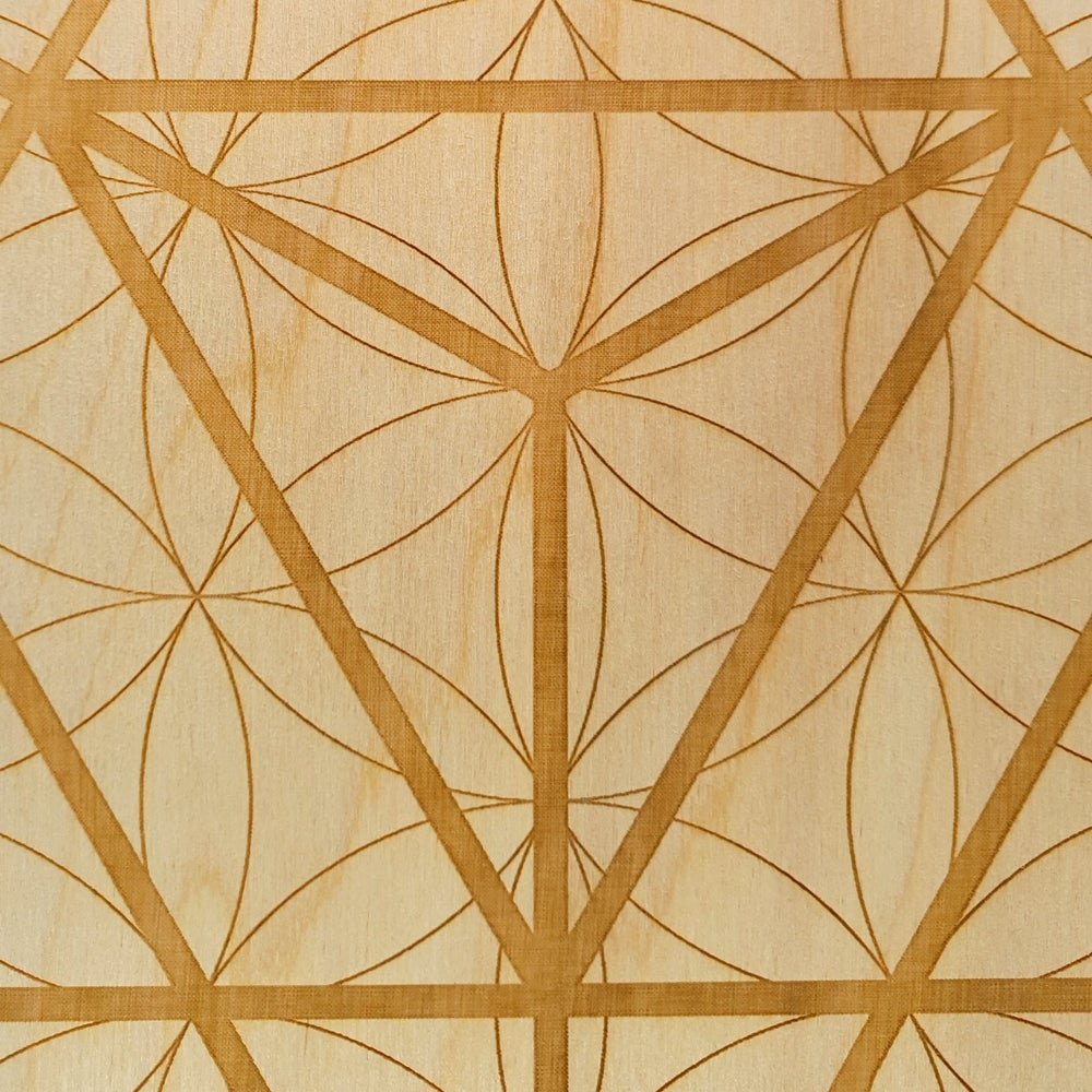 Image of SOLD OUT - MERKABA FLOWER OF LIFE - Sacred Geometry Grid