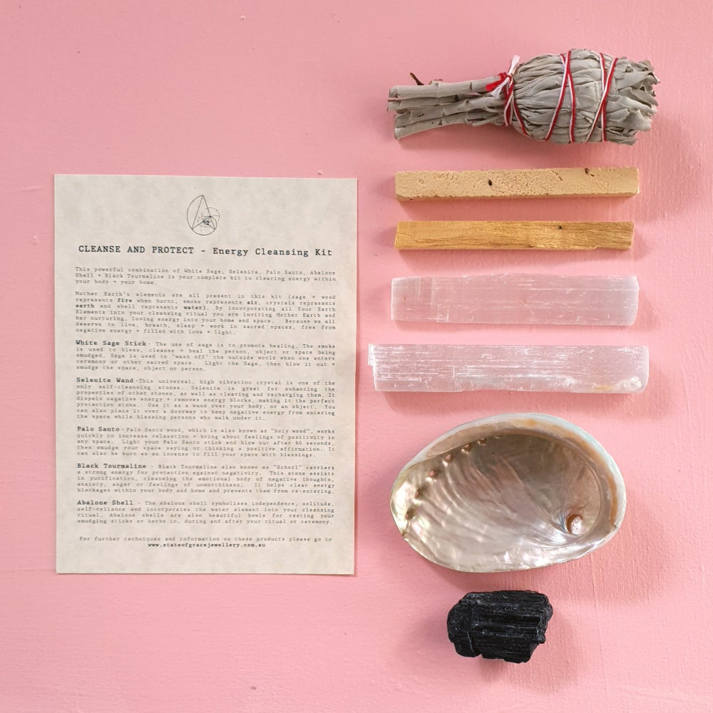 Image of CLEANSE & PROTECT - Energy Clearing Kit