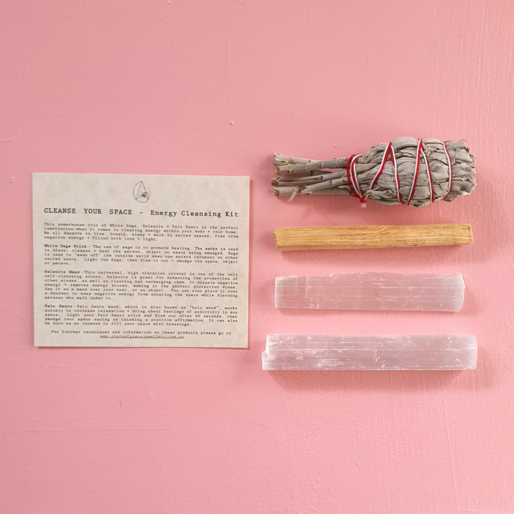 Image of CLEANSE YOUR SPACE - Energy Cleansing Kit