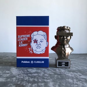 Image of Supreme Leader Lil Kimmy [Cold Cast Bronze]