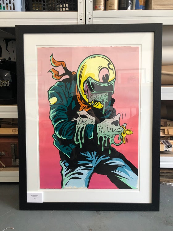 Image of FRAMED ORIGINAL - The Fun starts here