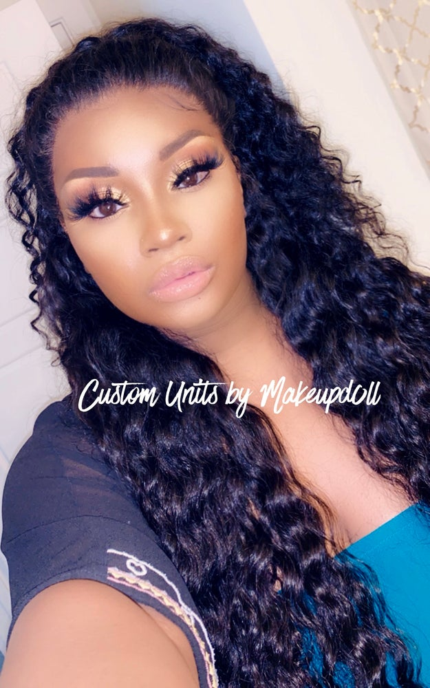 "Image of Brazilian Loose/Deep Wave 26"" Lace Frontal Wig!"