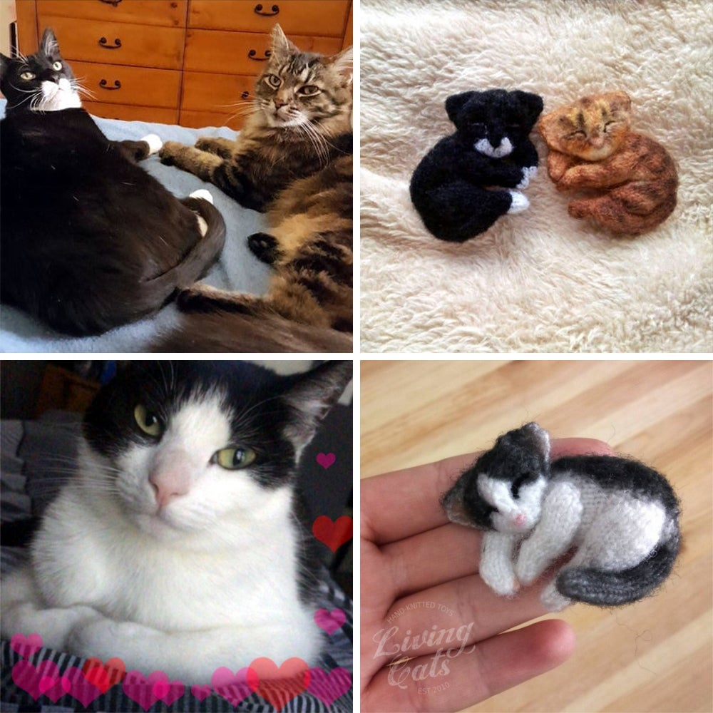Image of Custom Portrait Cat Pin