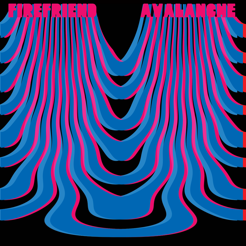 Image of Firefriend - Avalanche (2xLP - Colour Vinyl Violet and White) Cardinal Fuzz - SOLD OUT