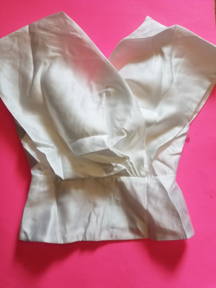 Image of Debbie Pleated Blouse In White