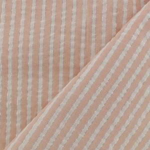 Image of Petite jupe à noeuds en seersucker lurex