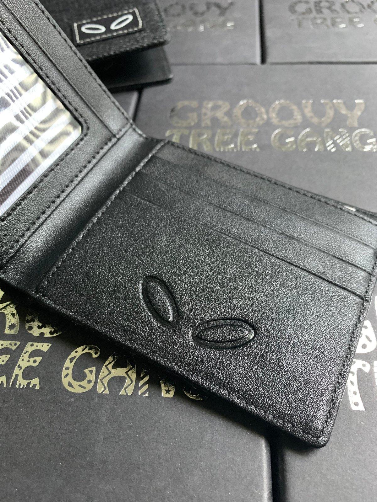 Image of Denim + Leather Bi-Fold Wallets