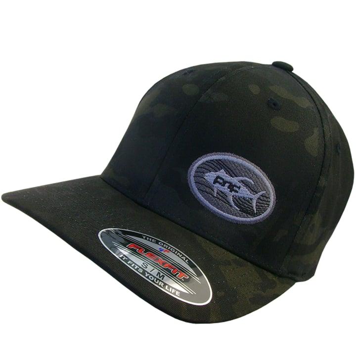 Image of Tuna Emblem Flexfit Buck Bill (dark camo)