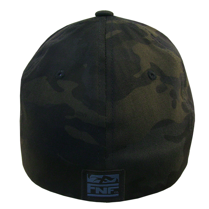 Image of Tuna Emblem Flexfit Buck Bill (dark camo)