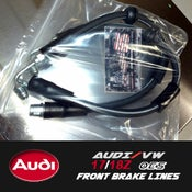 Image of PROJECTB5 - AUDI/VW 17Z/18Z OES Front Brake Lines