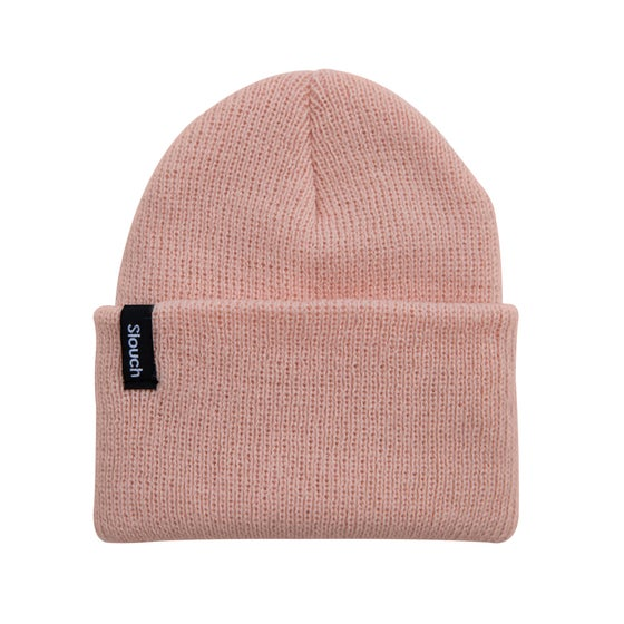 Image of Blush Pink Knit Cuff Beanie
